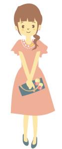 結婚式 お呼ばれ ドレス 袖あり
