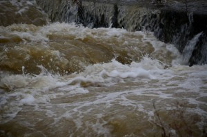 茨城県常総市・鬼怒川の堤防決壊
