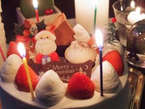 クリスマス 一人 ケーキ