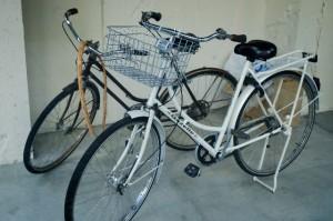 夏 自転車通学 汗