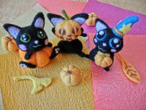 ハロウィン 猫 メイク やり方